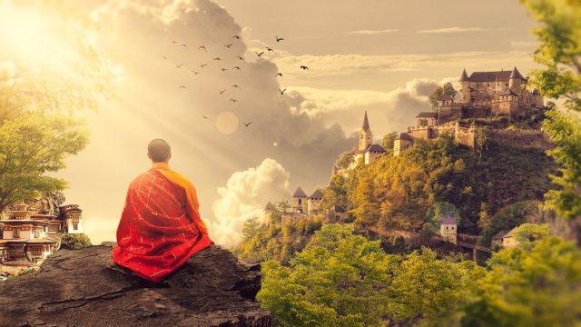 Медитация тибетских монахов