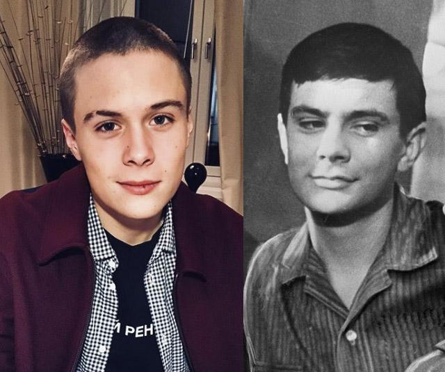 Внук Никиты Михалкова вырос копией дедушки