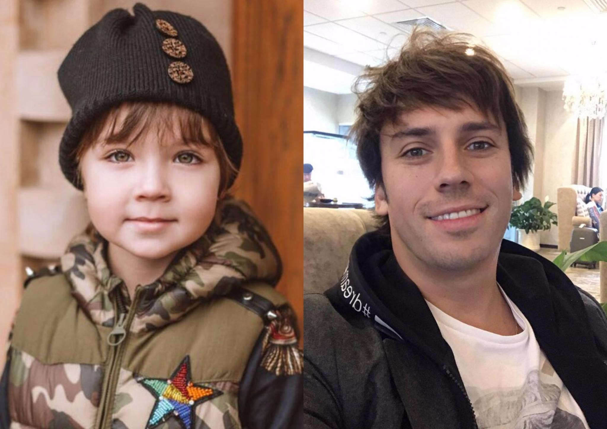 Максим Галкин и его сын Гарри (@maxgalkinru)