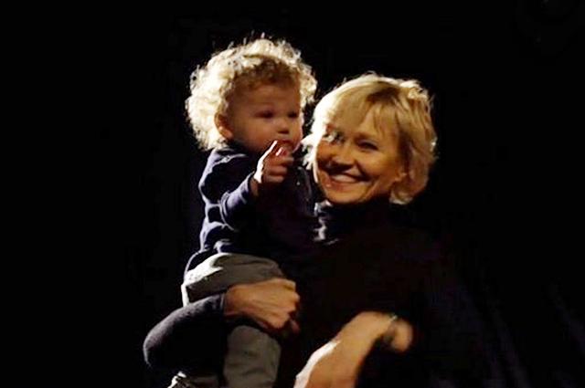 Ингеборга Дапкунайте впервые показала маленького сына