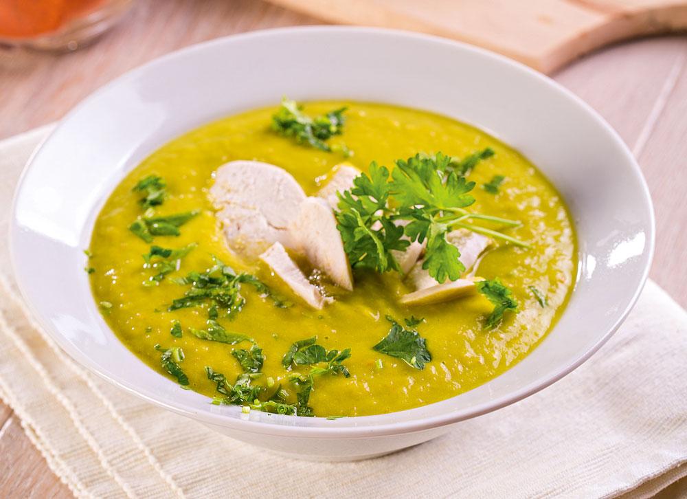 Суп с курицей рецепт в картинках