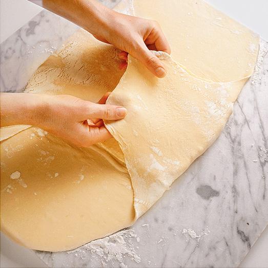 Слоеное тесто: классический рецепт иблюда изнего