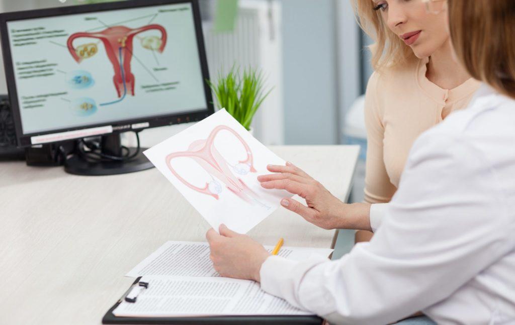 Лечение бесплодия у женщин начинается с визита к гинекологу