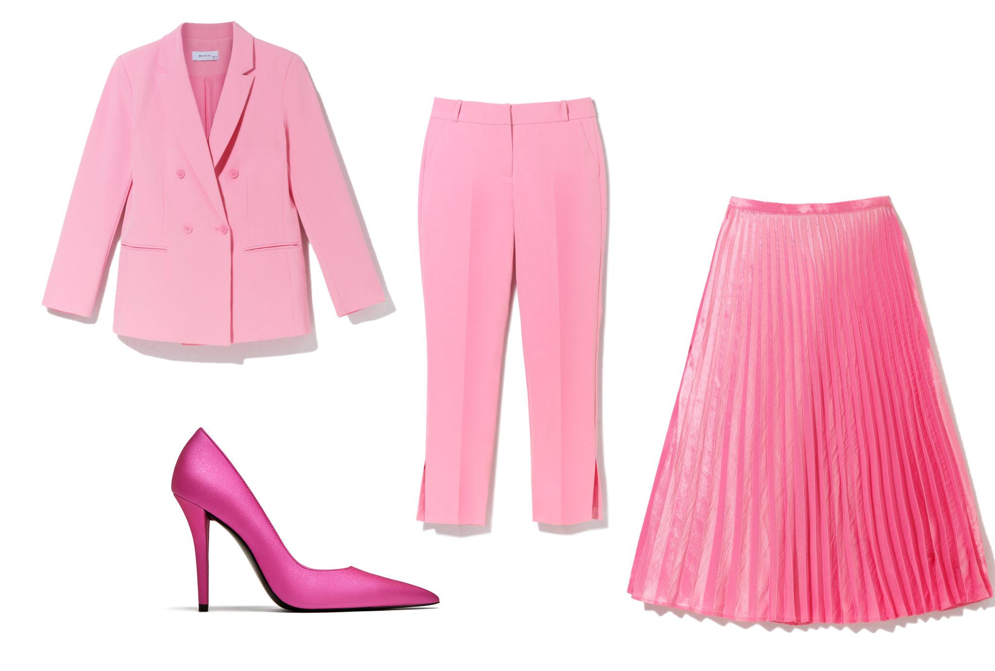 Ксения Собчак показала, как вписать розовый цвет в деловой гардероб