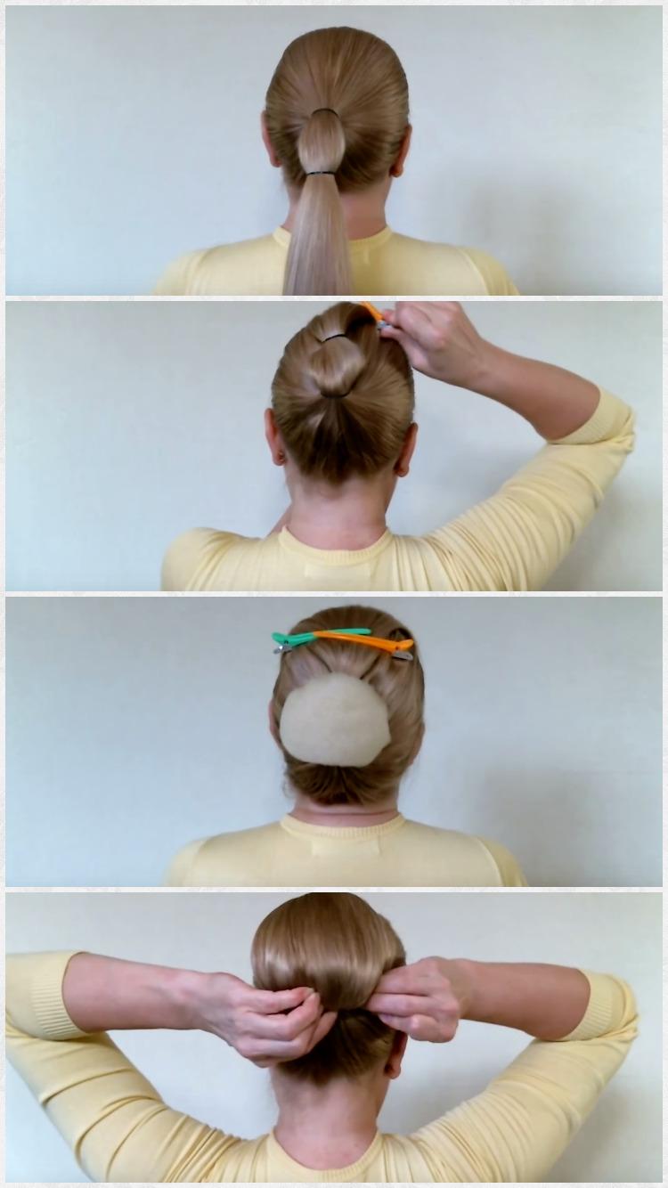 3 прически на очень длинные волосы
