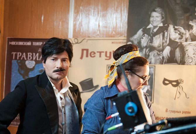Смена имиджа: Николай Басков теперь брюнет с усами