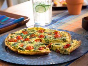 Фриттата с овощами— 115 ккал