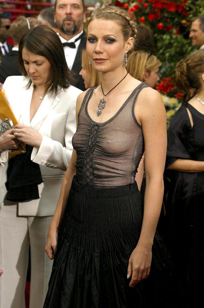 Гвинет Пэлтроу на Оскаре-2002