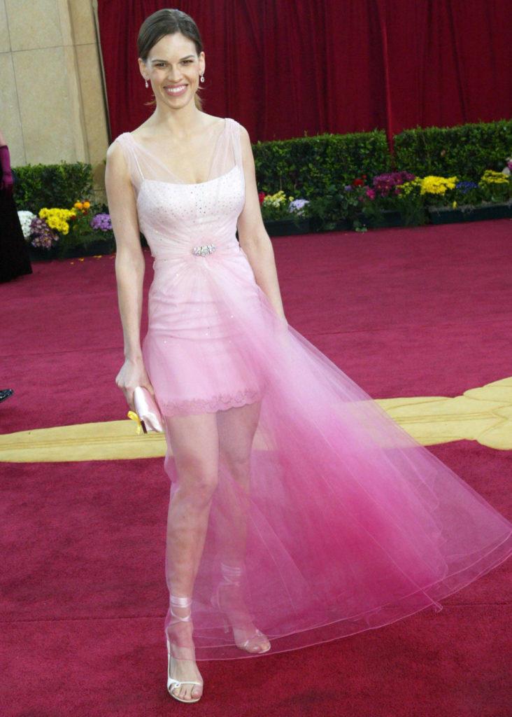 Хилари Суонк на Оскаре-2003