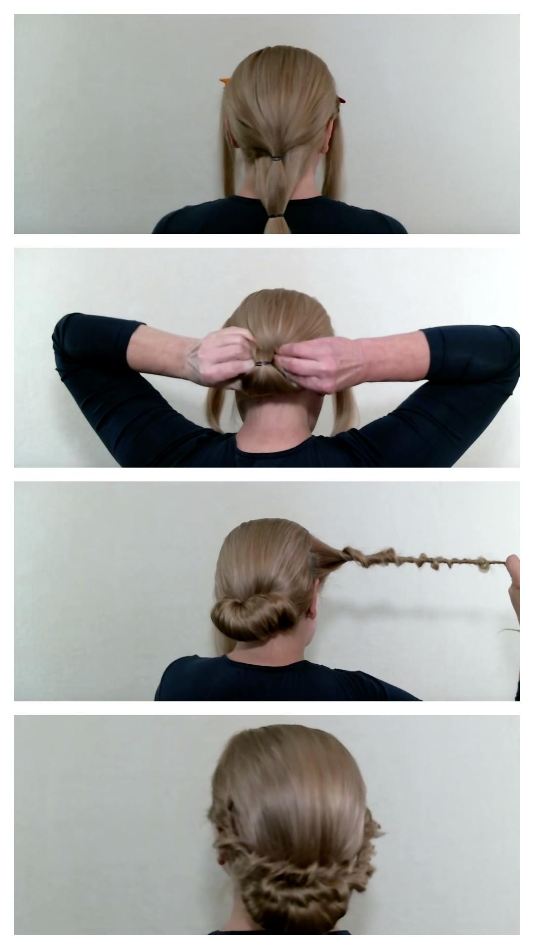 3 прически наочень длинные волосы