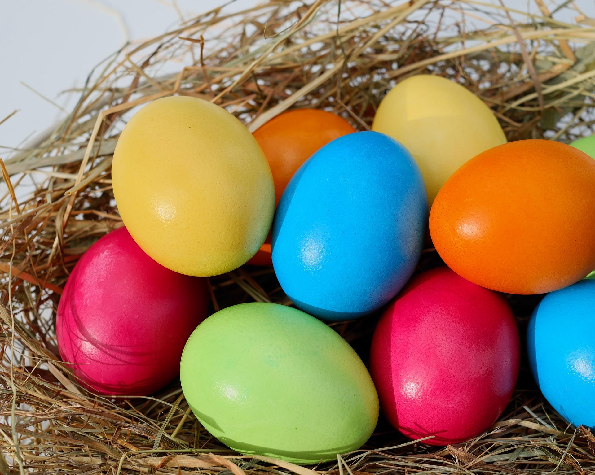 как покрасить яйца напасху