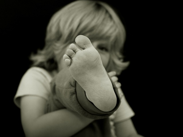 Стопа ребенка
