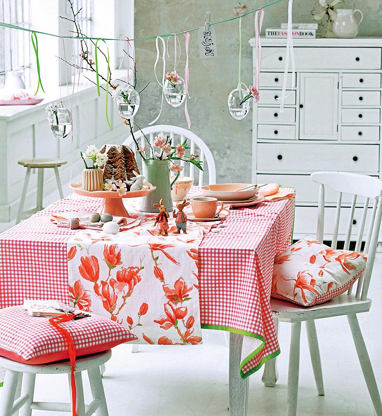 Как украсить стол на Пасху?