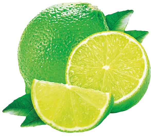 цитрусовые фрукты лайм