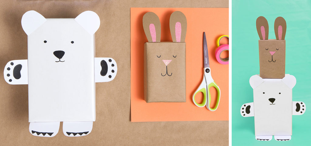 Бумажный мишка