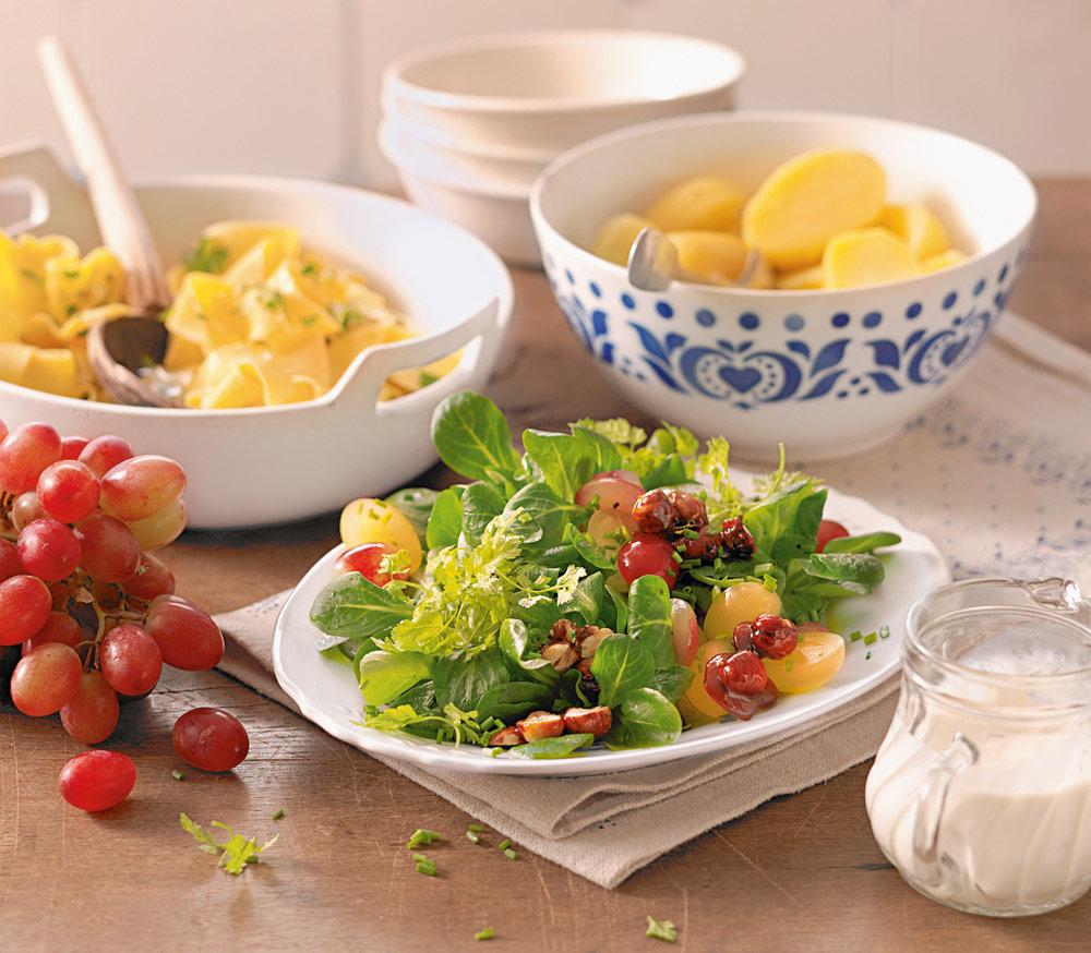 4 рецепта весенних салатов
