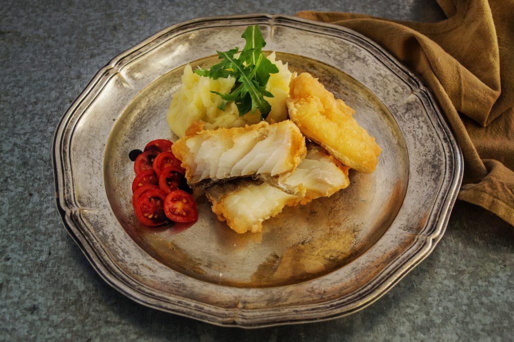 Треска - полезная рыба для соблюдающих диету