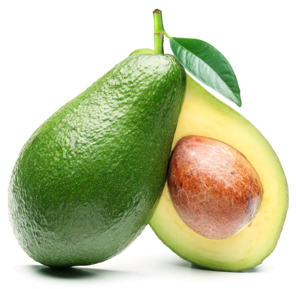 Авокада помогает бороться сцеллюлитом