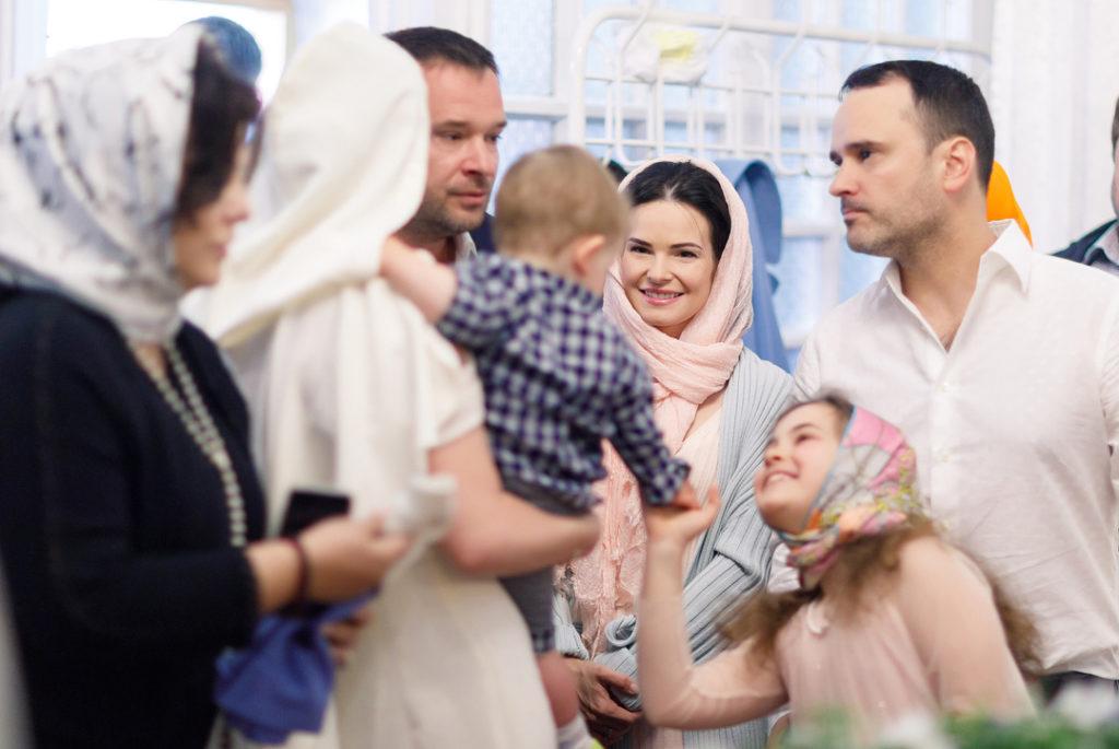 Мария Кожевникова поделилась уникальным снимком с крестин младшего сына