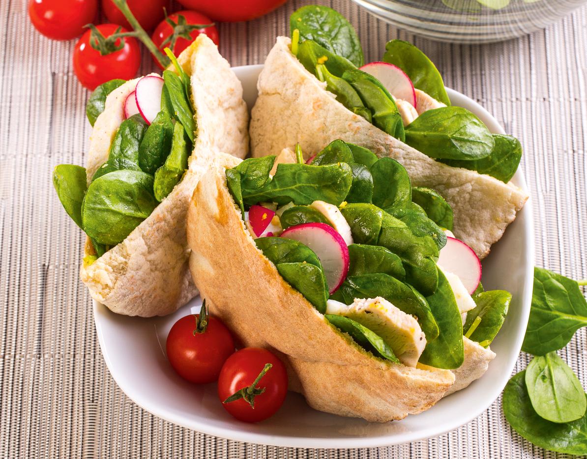 4 бесподобно вкусных блюда из свежего шпината
