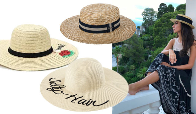5 бюджетных соломенных шляп, как у Зары