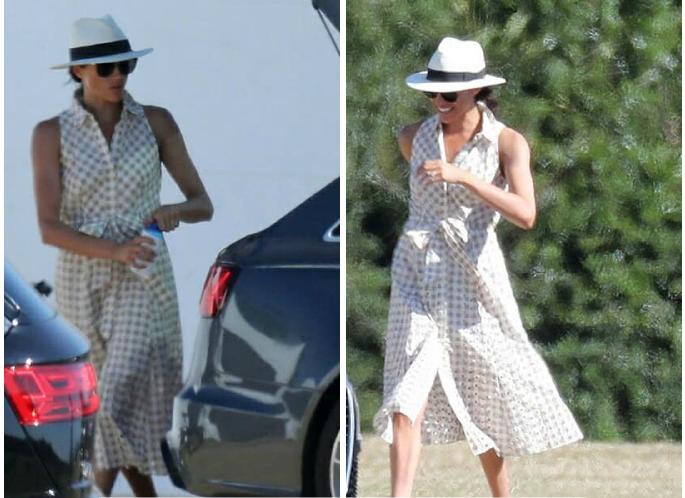 Меган Маркл показала идеальное платье для летнего дня на природе