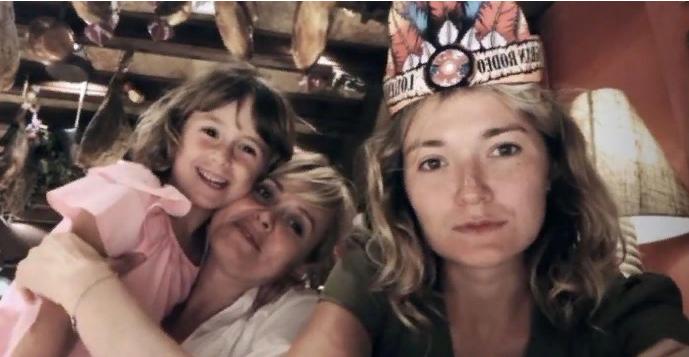 Анна Михалкова впервые показала лицо четырехлетней дочери Лидии