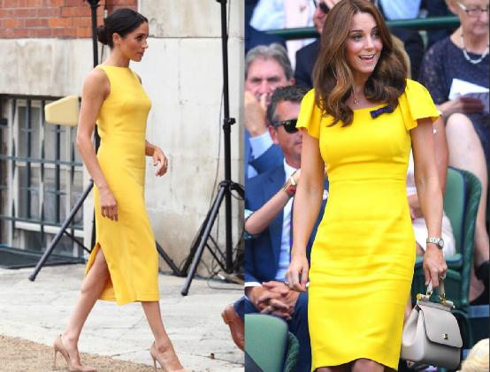 Модная битва королевских невесток: Кейт Миддлтон против Меган Маркл