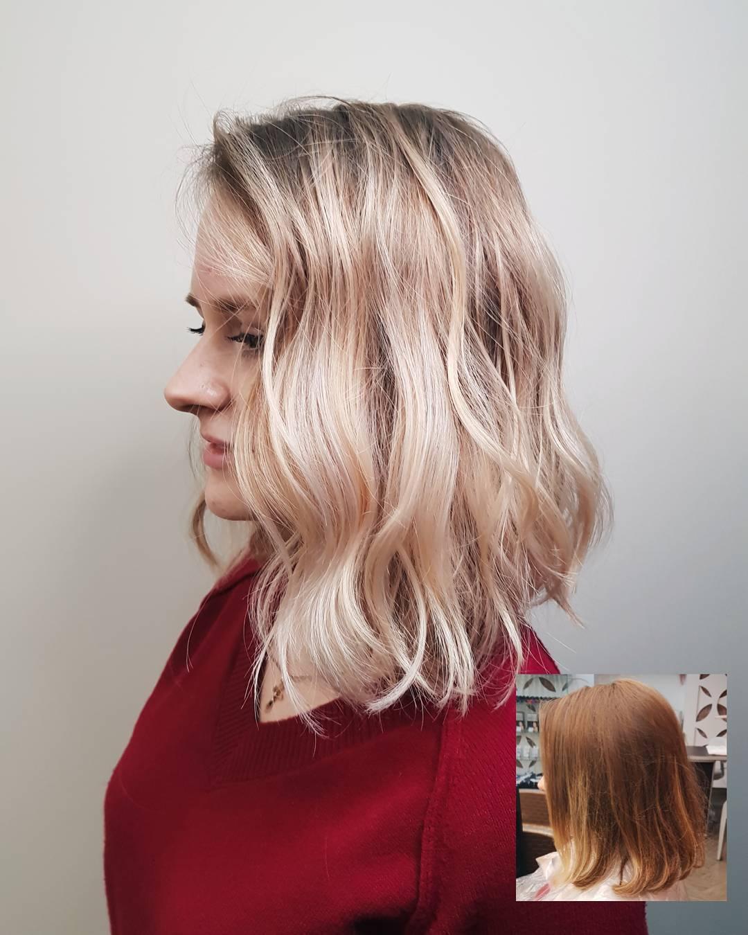 Стрижки на средние волосы: тренды 2018