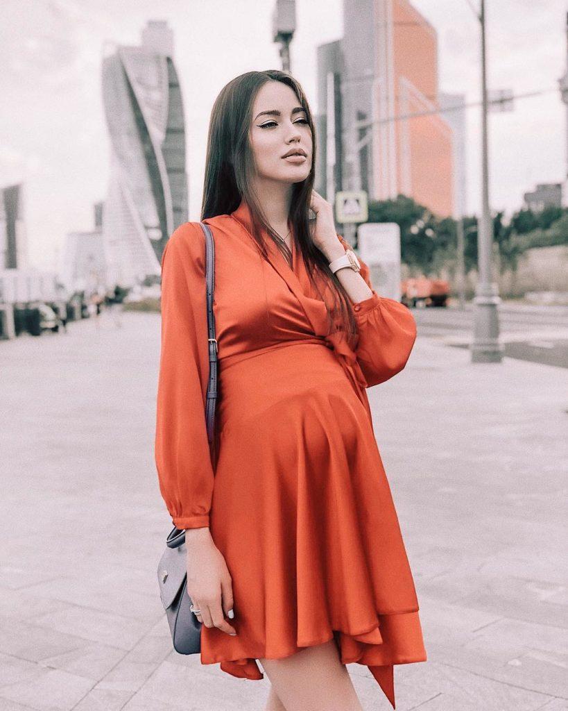 Беременная Анастасия Костенко стремительно худеет передродами