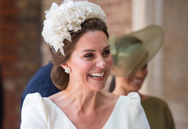 Посвежевшая Кейт Миддлтон затмила всех на крестинах маленького принца Луи