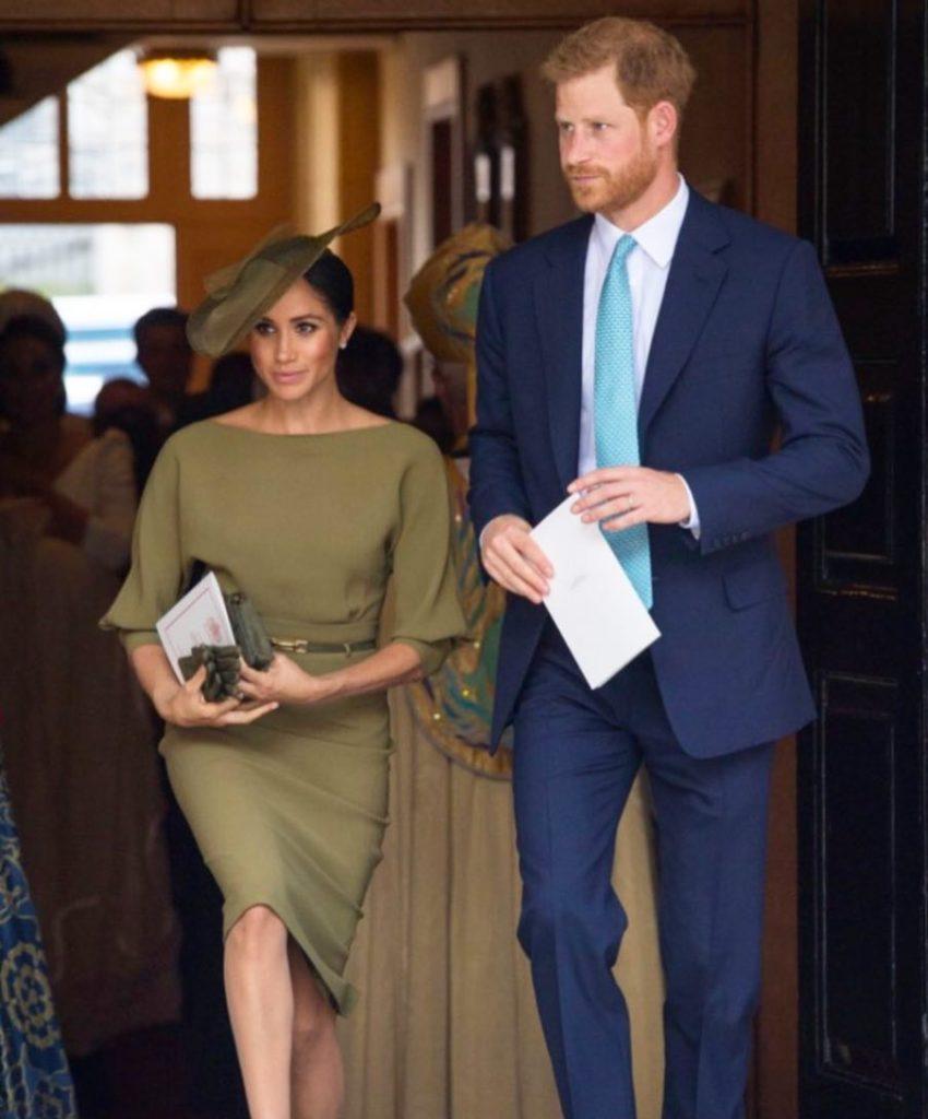 Стало известно, какой раритетный подарок принц Гарри сделал племяннику накрестины