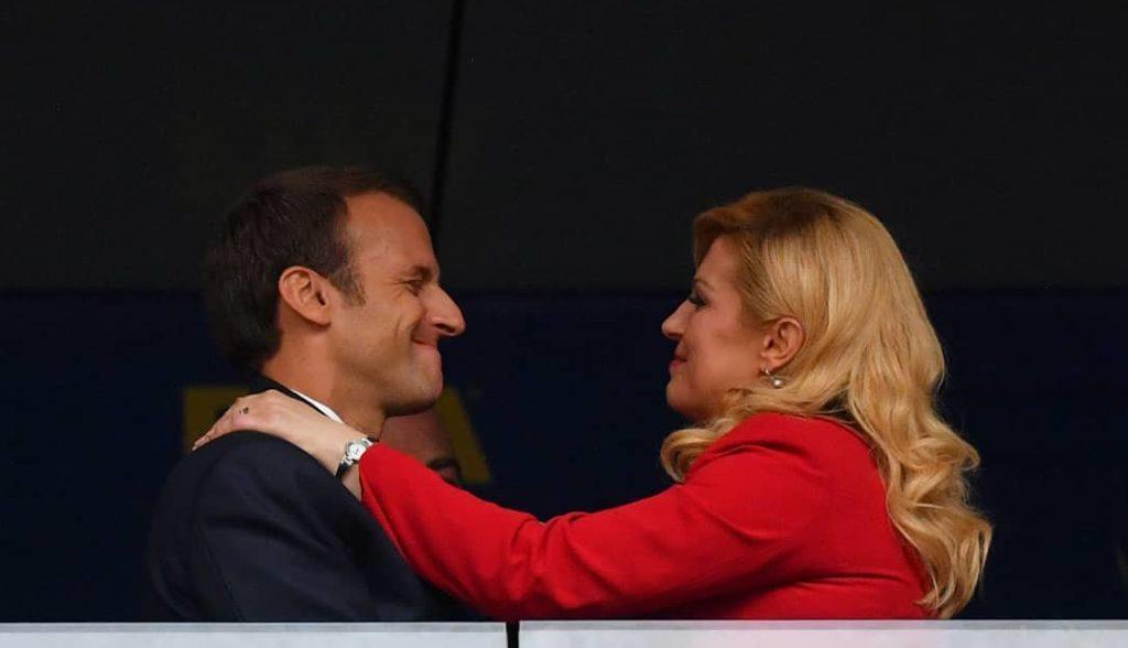 Самая обсуждаемая женщина-президент: что связывает Колинду Китарович с Эммануэлем Макроном?