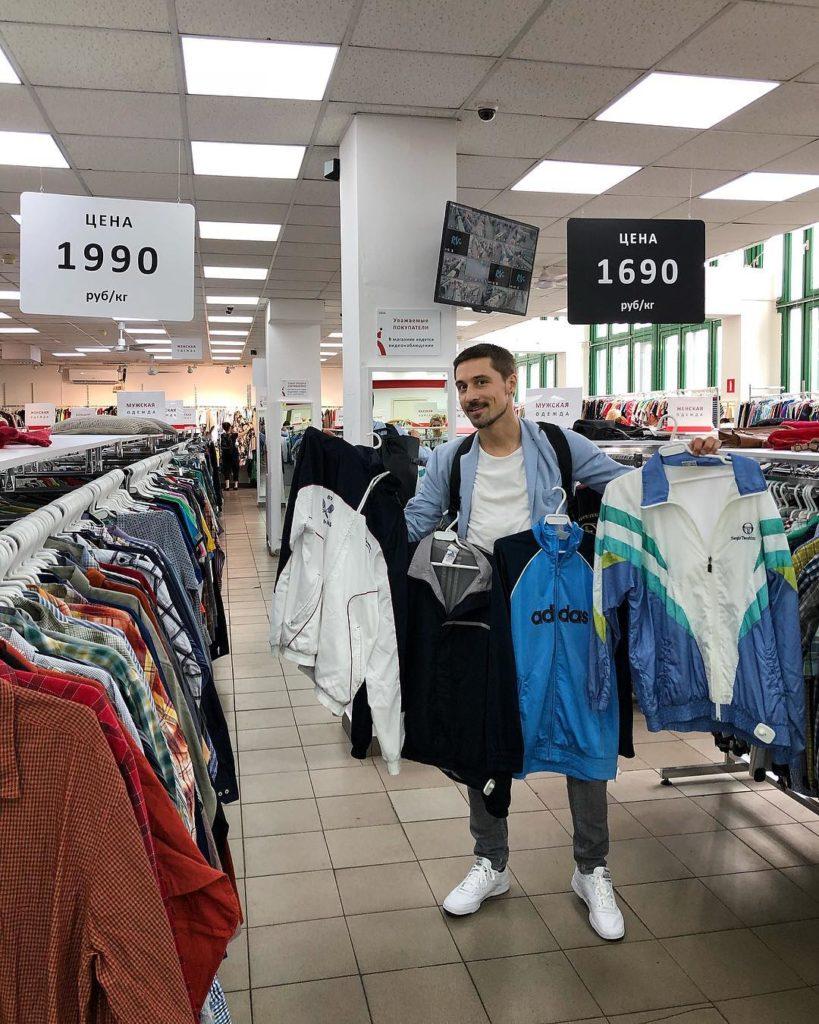 Дима Билан признался, что килограммами скупает одежду в секонд-хэндах