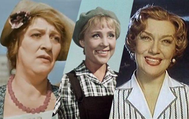15 любимых советских актрис, у которых не было детей