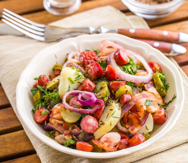 5 самых популярных салатов вмире