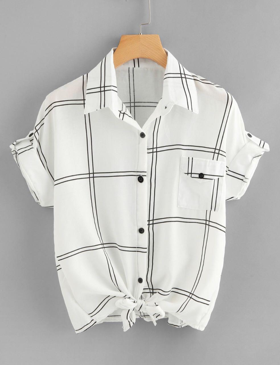 7 клетчатых рубашек до3000 рублей, как уМеланьи Трамп