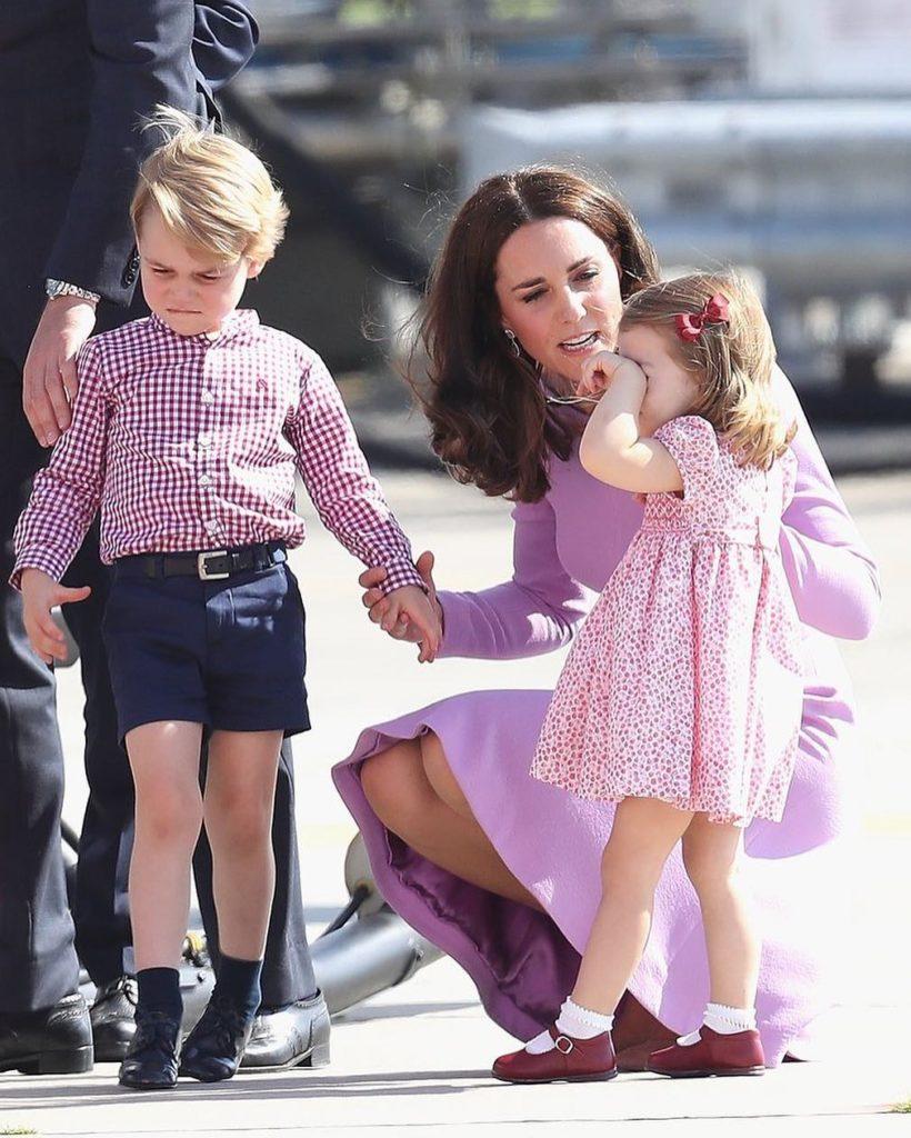 5-летний сын Кейт Миддлтон ипринца Уильяма признан самым стильным британцем