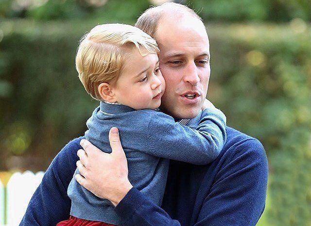 5-летний сын Кейт Миддлтон и принца Уильяма признан самым стильным британцем