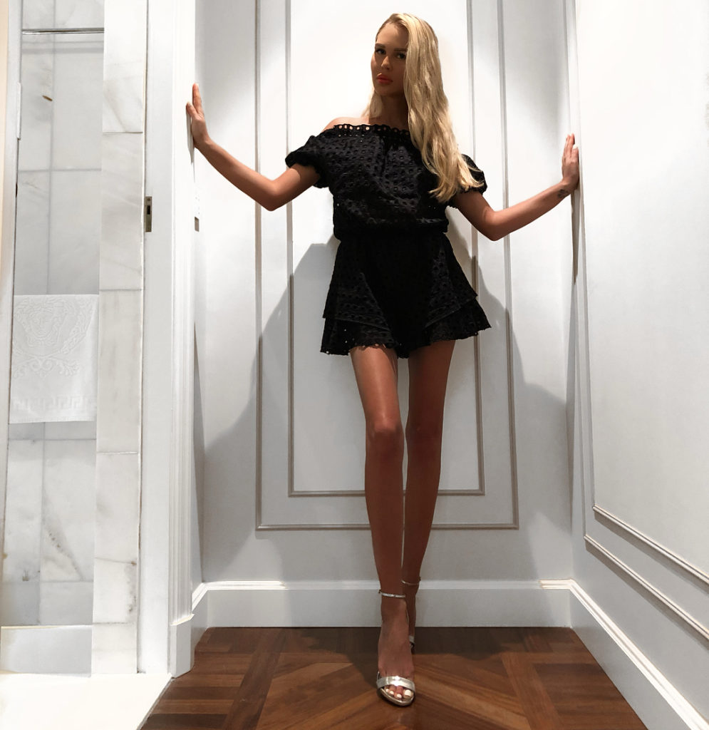 Визуально «удлинить» ноги на фото на 20 см: советы Марии Погребняк
