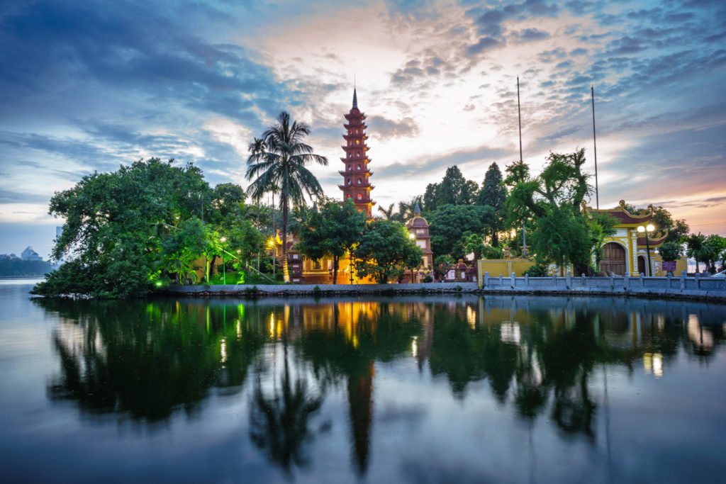 Пагода Чанкуок вХаное
