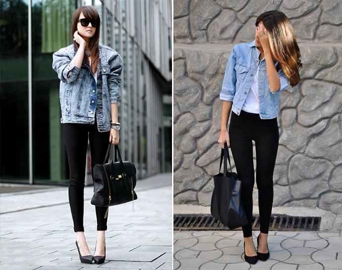 Вопрос стилисту: счем носить леггинсы летом?