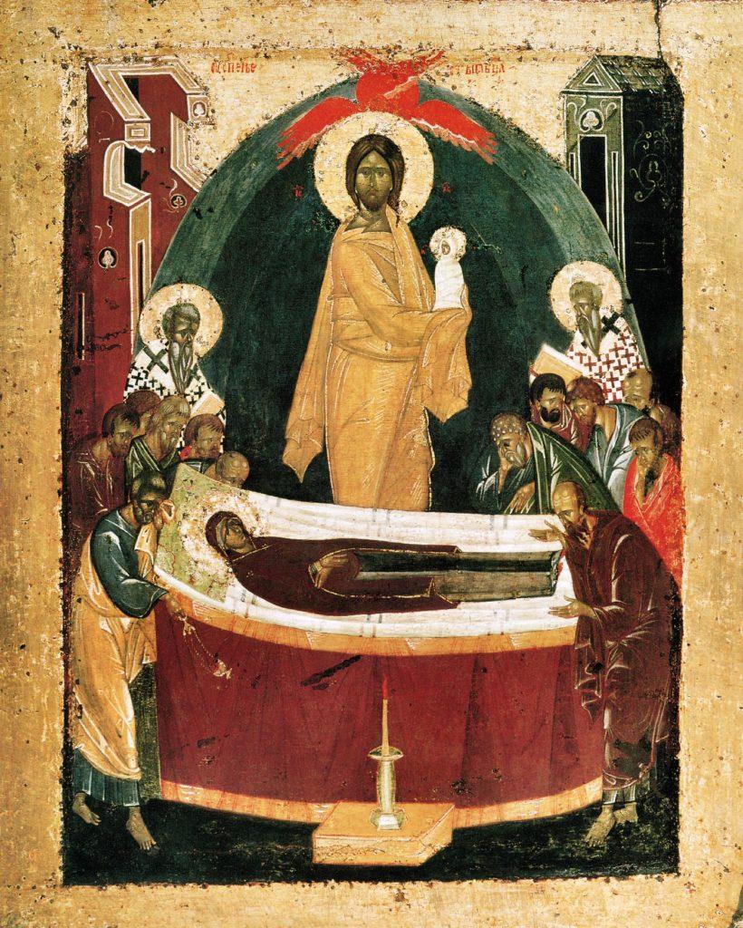 Uspenie-Bogorodicy-ikona