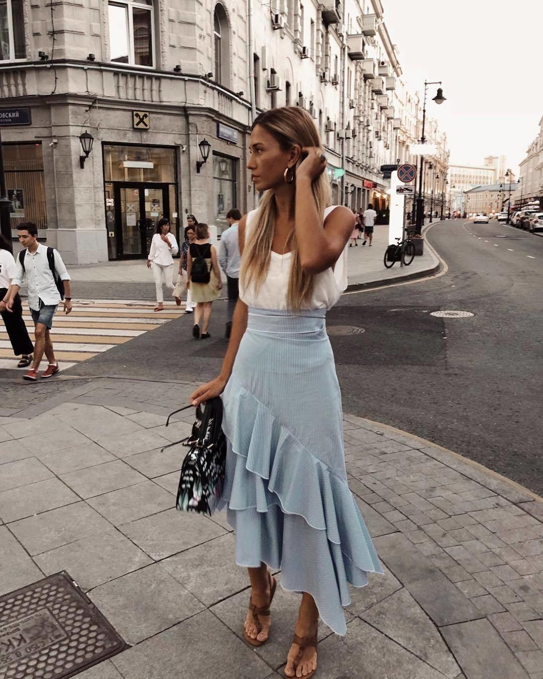 11 стильных образов в расслабленном городском стиле